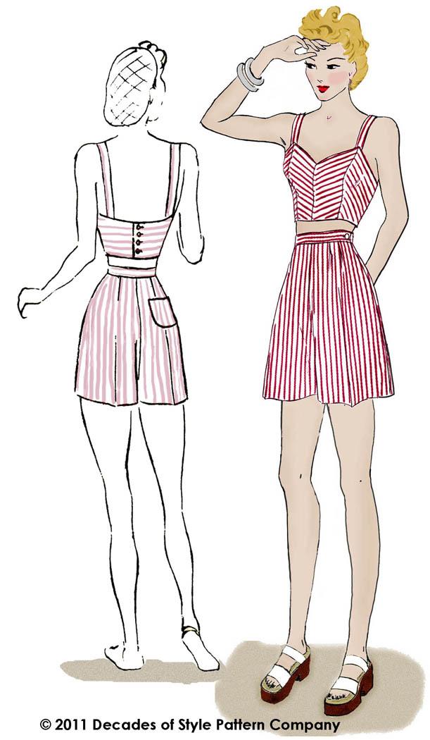 Patrons de couture vintages