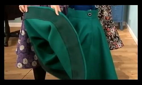La jupe rétro en vidéo