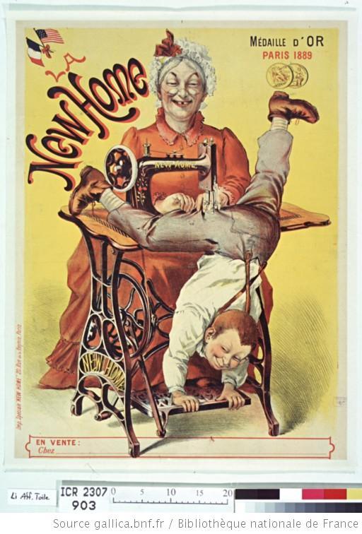 Affiches publicitaires fin XIXe