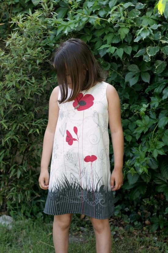 Robe coquelicot lalimaya