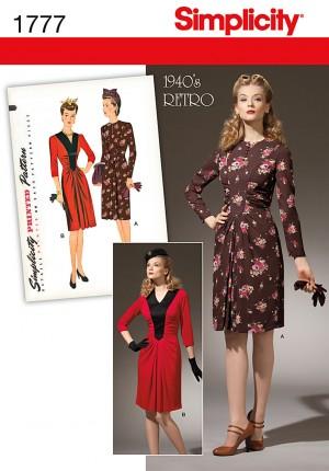 patrons couture vintage 1940