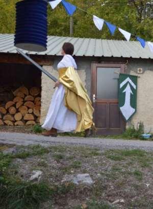 LARP costume dress