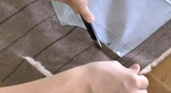 Couper de la fourrure