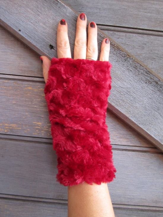 easy fur mittens