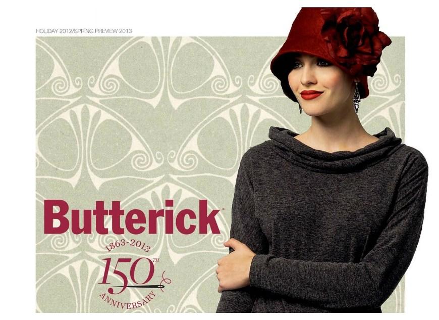 Butterick Noël 2012 – Printemps 2013
