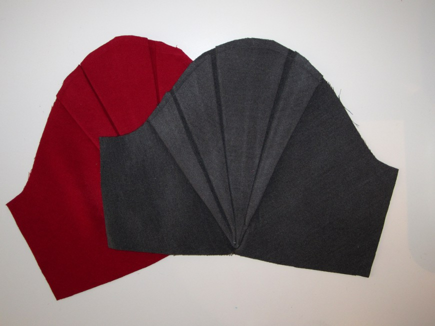 Tuto : les plis du manteau origami