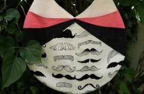 Sac d'été rond… à moustaches