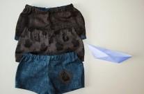 Shorts pour bébé pirate