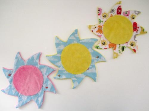 Les 3 doudous soleils