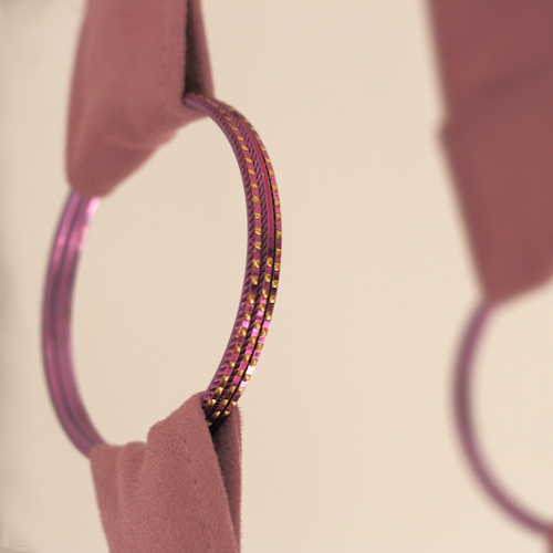 Bracelets en guise d'anneaux