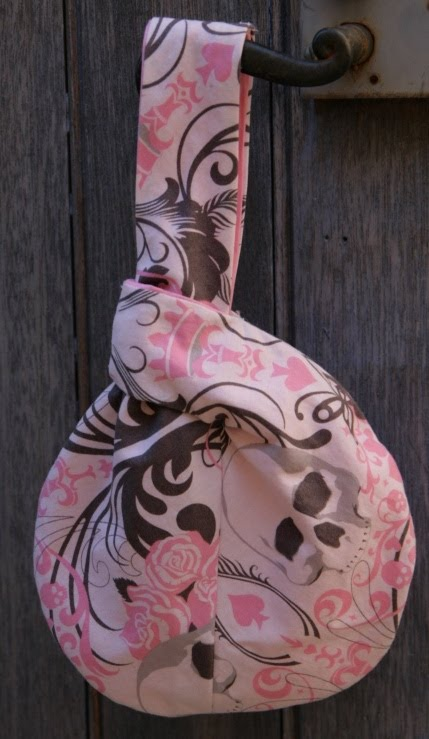 Japanese knot bag – Sac japonais – Vogue 7354