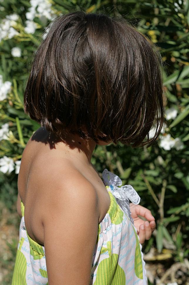 Robe paréo fillette
