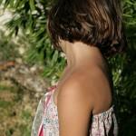 robe de plage fillette