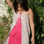 robe bustier fillette