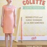 Couverture livre de couture Colette