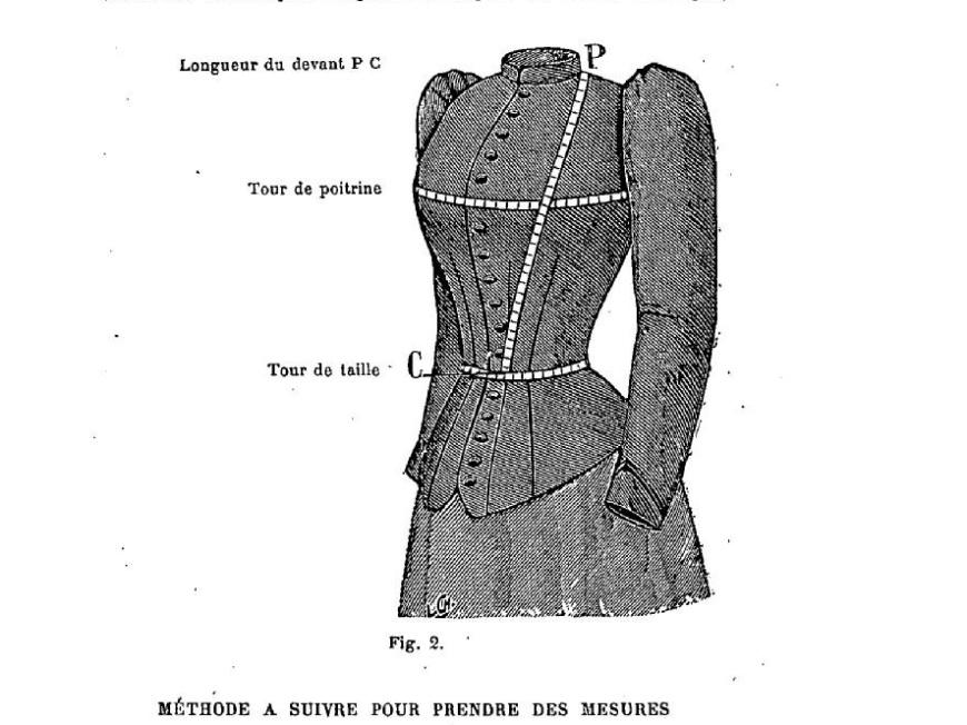 Manuel de coupe et couture 1891